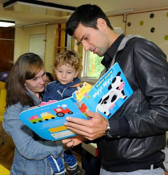 Veliko srce Novaka Djokovica 3