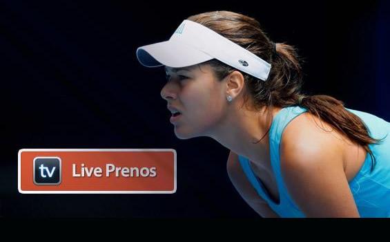 Ana Ivanovic, live prenos