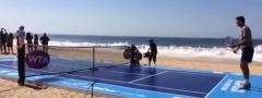 Akapulko: Delpo i Bušar zaigrali na plaži (Video)