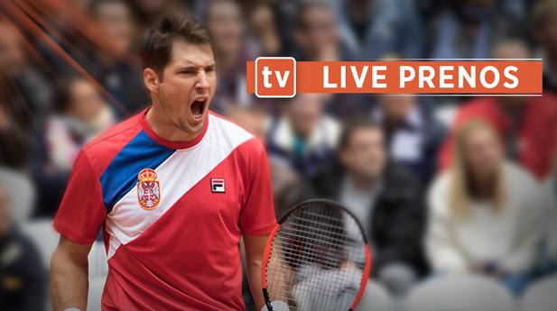 Dusan Lajovic, live prenos