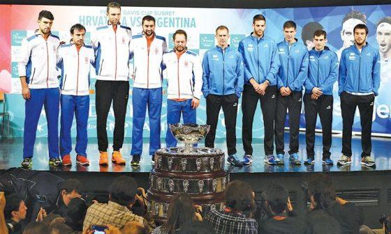 Reprezentacije Hrvatske i Argentine