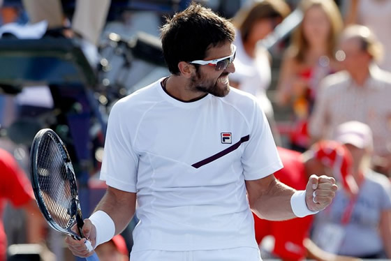 Janko Tipsarevic. Getty Images.