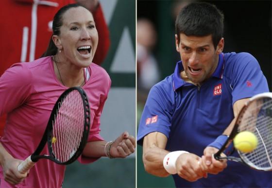 Jelena Jankovic i Novak Djokovic