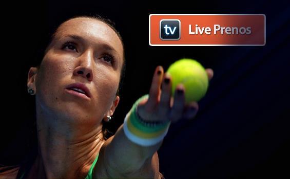 Jelena Jankovic, live prenos