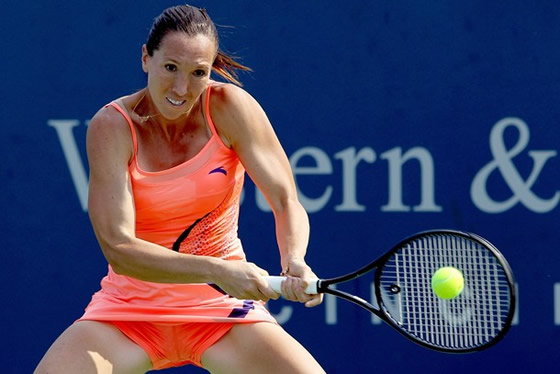 Jelena Jankovic. Getty Images.