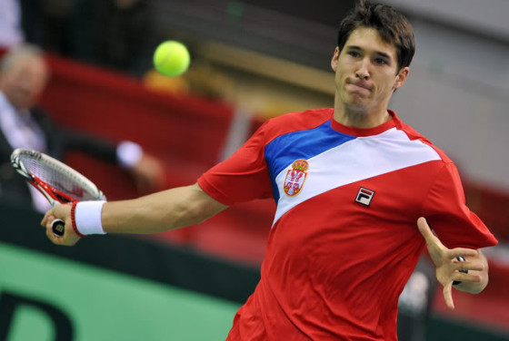 Dusan Lajovic, photo by TenisUzivo.com