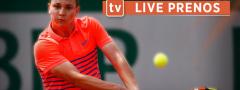 Kecmanović – Travalja live prenos (oko 13.15h) – Gledajte direktan prenos