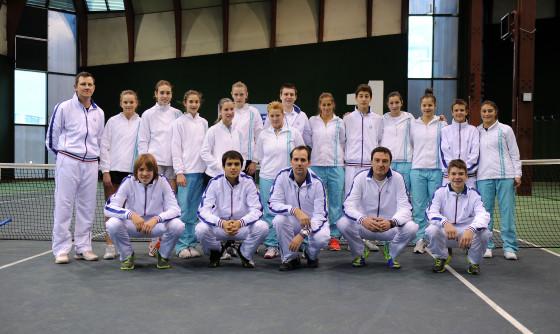 Mlade teniske reprezentacije Srbije