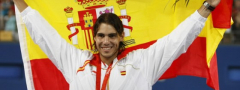 Nadal  nosi zastavu Španije u Riju