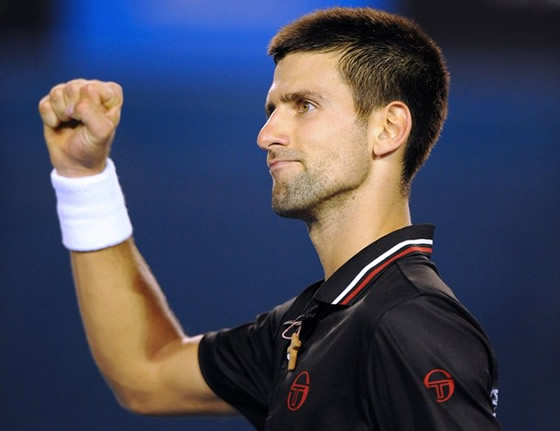 Novak Djoković. Getty Images.