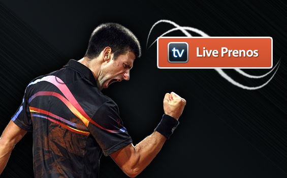 Novak Djokovic, live prenos