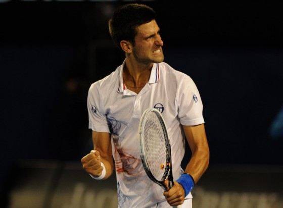 Novak Djokovic. Getty.
