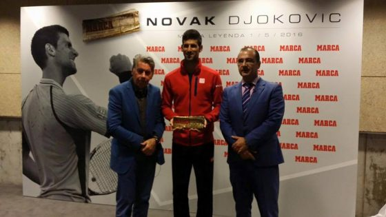 facebook/Novak Djokovic