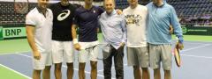 Đoković i Zimonjić na prvom treningu pred meč sa Špancima!