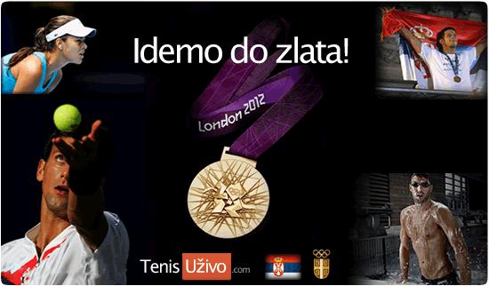 London 2012 - Letnje Olimpijske Igre, Srbija - Tenis Uzivo